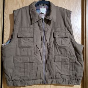 Scandia Woods flannel lined vest